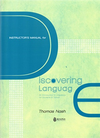 Instructor's Manual for Discovering Language: An Introduction to Linguistics for Students in Taiwan