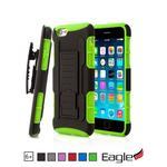 【Eagle 美國鷹】iPhone 6/6s Plus Holster Stand 滑槍套雙層保護殼(6色)