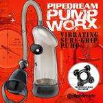 美國進口PIPEDREAM - PUMP WORX系列-無線激震式真空助勃器-Vibrating Sure-Grip Pump
