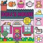 【Song Baby】Lift-The-Flap Tab:Doll's House 娃娃屋(硬頁翻翻操作書)