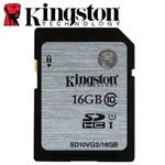 Kingston 金士頓 16GB 80MB/s SDHC SD UHS-I U1 C10 記憶卡