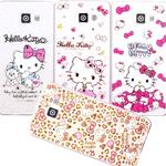 【Hello Kitty】Samsung Galaxy A7(2016) 彩鑽透明保護軟套