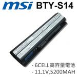 MSI 6芯 BTY-S14 日系電芯 電池 FR400 FR600 FR610 BTY-S14 BTY-S15 GE60 GE70 CR41 CR61 CR70 CX61 CX70