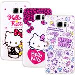 【Hello Kitty】Samsung Galaxy Note 5 彩繪透明保護軟套