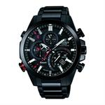 【CASIO EDIFICE】CASIO EDIFICE EQB-501DC-1A 太陽能藍牙智慧指針腕錶/黑面48mm(EQB-501DC-1A)
