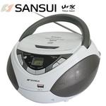 快-SANSUI山水CD/MP3/USB/AUX手提式音響(SB-86N)