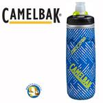 Camelbak 620ml Podium保冷噴射水瓶 飛速藍;