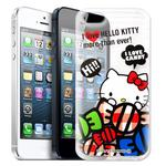 【Hello Kitty】iPhone SE/5/5S / i5 / i5s 透明 手機軟殼(糖果HI)