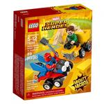 【LEGO 樂高積木】SUPER HEROES 超級英雄系列 - Mighty Micros: Scarlet Spider vs. Sandma(LT-76089)