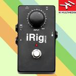 IK Multimedia iRig Stomp- iPhone/ iPad 電吉他/電貝斯 效果器