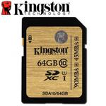 Kingston 金士頓 64GB 90MB/s SDXC SD UHS-I U1 C10 記憶卡