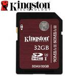 Kingston 金士頓 32GB 90MB/s SDHC SD UHS-I U3 C10 記憶卡