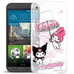 My Melody Kuromi HTC ONE S9/M9 可共用款 透明軟式手機殼(Melody旋律)