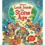 英國 Usborne 翻翻書 Look Inside the Stone Age 窺探石器時代 *db小舖*