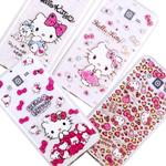 【Hello Kitty】Samsung Galaxy J7 / SM-J700 彩鑽透明保護軟套