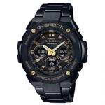 【CASIO G-SHOCK】CASIO G-SHOCK GST-S300BD-1A 絕對強悍時尚雙顯多功能腕錶/50mm(GST-S300BD-1A)