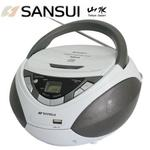 【sansui 山水】cd/mp3/usb/aux手提式音響 (sb-86n)