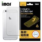 【iMOS Touch Stream】iPhone 6/6S 背面保護貼(霧面)
