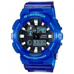 【CASIO G-SHOCK】CASIO G-SHOCK GAX-100MSA-2A 潮汐衝浪運動雙顯時尚腕錶/藍55mm(GAX-100MSA-2A)