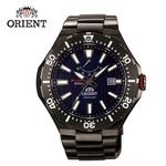 【ORIENT 東方錶】ORIENT 東方錶 M-FORCE FOR AIR DIVING系列 潛水機械錶 鋼帶款 SEL07001D 藍色 - 49.1mm(機械錶)