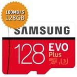 【SAMSUNG】三星 《EVO PLUS》 microSDXC 128GB USH-I 記憶卡(平行輸入)