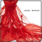 【ANGEL WOOLEN】細緻手工羊毛披肩(玩趣曲線)