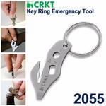 CRKT Key Ring Emergency救援工具鑰匙圈CRKT 2055【AH51010】