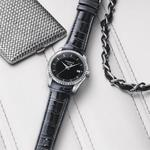 【TISSOT】T-Trend Couturier Lady簡約鑽錶-黑(T0352106605100)