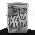 【ZIPPO】美系-Fire Breathing Dragon-噴火龍圖案貼飾