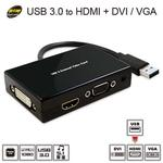 【伽利略 】 USB 3.0 to HDMI+DVI/VGA RU057
