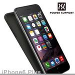 【POWER SUPPORT】iPhone6s Plus Air jacket 保護殼 黑色(iPhone6 Plus 共用)