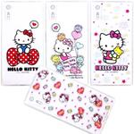 【Hello Kitty】SONY Xperia XZ 5.2吋 彩繪空壓手機殼