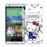 【Hello Kitty】HTC Desire 820 透明 手機軟殼(Kitty公仔)