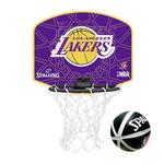 【SPALDING】湖人隊小籃板-LOS ANGELES LAKERS籃球 紫黃