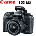 Canon EOS M5  EF-M 15-45mm F3.5-5.6 IS STM (公司貨)