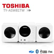 TOSHIBA日本東芝 CD/MP3/USB/藍芽組合音響 TY-ASW81TW