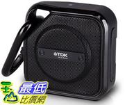 [106美國直購] 揚聲器 TDK A12 TREK Micro NFC Bluetooth Portable Mini Wireless Outdoor Speaker - Black