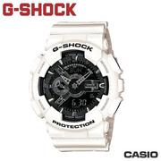 "CASIO《G-SHOCK ""BIG G""》THREE EYE黑白系列 GA-110GW-7A"