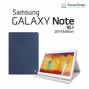 FOREST GREEN Galaxy Note 10.1 2014 Basic Folio 側掀式皮套