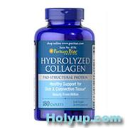 【PURITAN'S PRIDE 普瑞登】Hydrolyzed Collagen 水解膠原蛋白