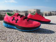 《下殺7折》Shoestw【1266241-963】UNDER ARMOUR Speedform Apollo2 進化版 桃紅藍