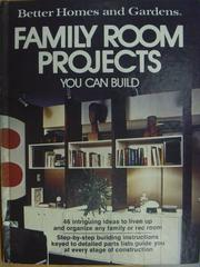 【書寶二手書T4/建築_YAW】Family Room Projects_You Can Build
