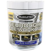 Muscletech, Pro Series, Nuerocore Pre-Workout, Icy Blue Raspberry, 8.08 oz (229 g)