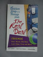 【書寶二手書T6/原文書_GBU】Chicken Soup for the Teenage Soul: The Real