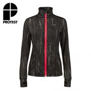 PROTEST FIT女運動外套 (真實黑) LATINO FULL ZIP TOP