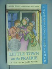 【書寶二手書T9/原文小說_LNV】Little Town on the Prairie_Wilder