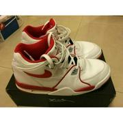 NIKE AIR FLIGHT 89 白紅 Jordan AJ 4 四代 同款