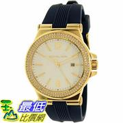 [105美國直購] Michael Kors Women's 女士手錶 Dylan MK2490 Gold Silicone Quartz Watch