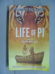【書寶二手書T1/原文小說_GIG】Life of Pi Film Tie in_Yann Martel