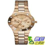 [美國直購 ShopUSA] Guess 手錶 Women's U13013L1 Gold Stainless-Steel Quartz Watch with Rose-Gold Dial $3836